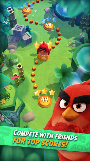 Angry Birds Action Screenshot