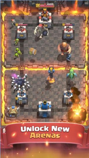 Arena baru di Clash Royale