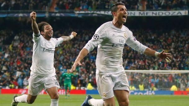 CR7 Cristiano Ronaldo Hatrick Liga Champions 2016