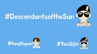 Emoji Twitter Spesial Descendants of the Sun