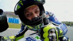 Jempol Valentino Rossi di Jerez Spanyol