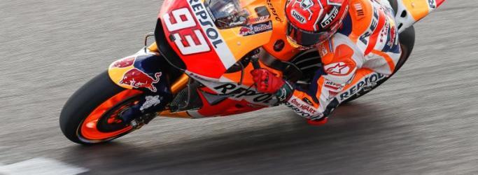 Marc Marquez 93 di MotoGP Argentina
