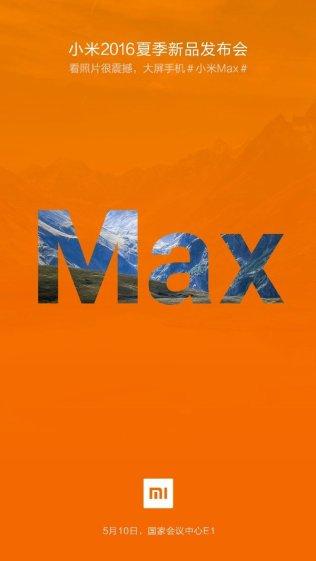 Mi Max rilis 10 Mei 2016 di China