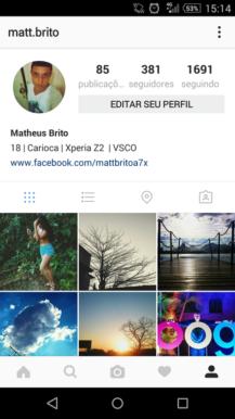 Profil Baru Instagram