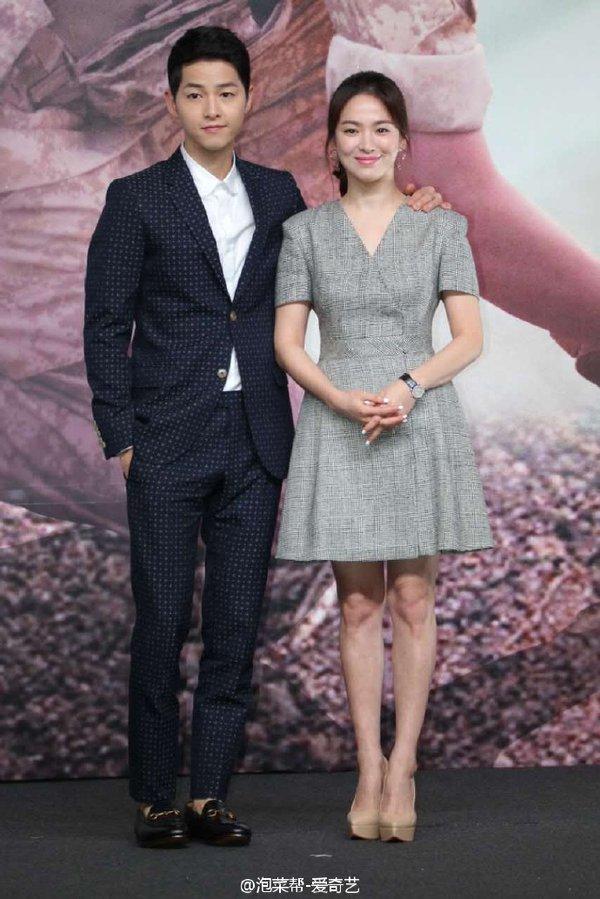 Sesi Press Conference Dr. Kang Mo Yeon dan Kapten Yoo Sijin Descendants of the Sun Drama