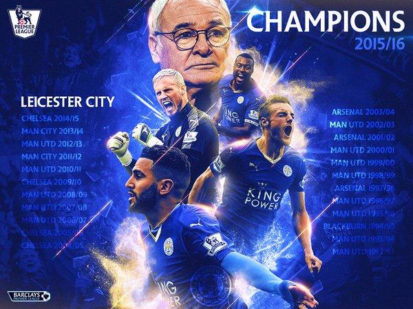 Akhirnya Liecester City Juara Liga Inggris