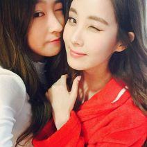 Offcial Instagram Seo Hyun Jin Photo eyes