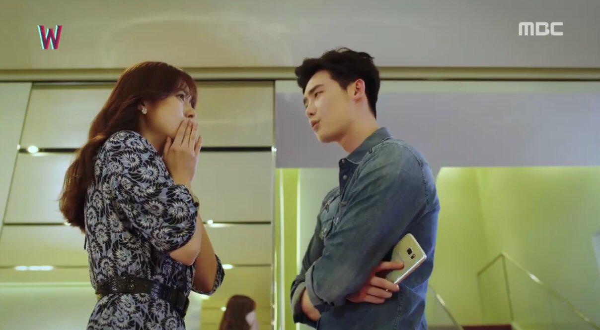 Drama Korea W Two Worlds di MBC