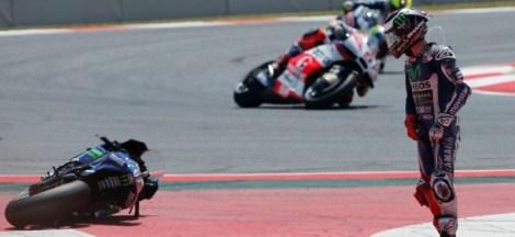 Jorge Lorenzo DnF MotoGP Catalunya 2016