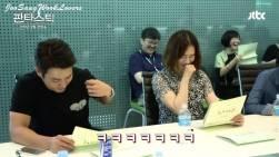 Kim Hyun Joo and Joo Sang Wook at the Script Reading of K-Drama Fantastic