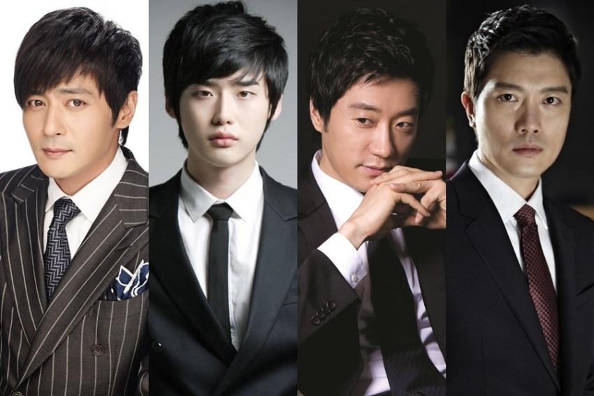 "Main Cast of K-Movie ""VIP"""