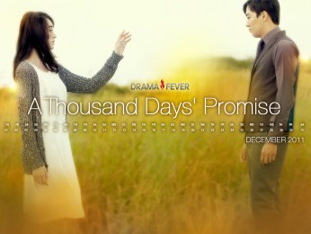 "Poster K-Drama ""A Thousand Days' Promise"" (1)"