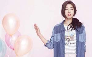 Casual Look of Park Shin Hye