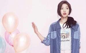 Casual Look of Park Shin Hye