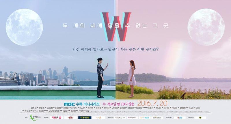 "K-Drama ""W - Two Worlds"" Poster 4"