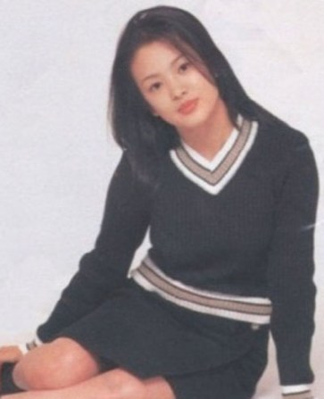 Song Hye Kyo as a School Uniform Model