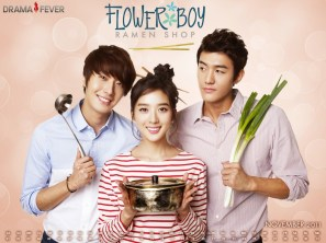 "K-Drama Poster ""Flower Boy Ramyun Shop"""