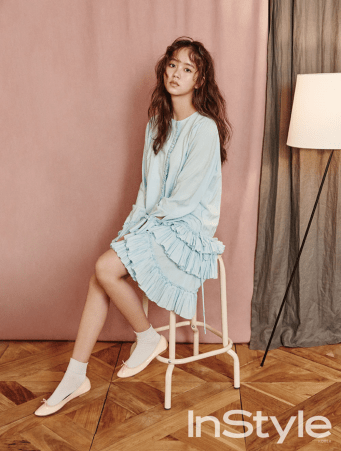 Foto Kim So Hyun Poses for a Photoshoot
