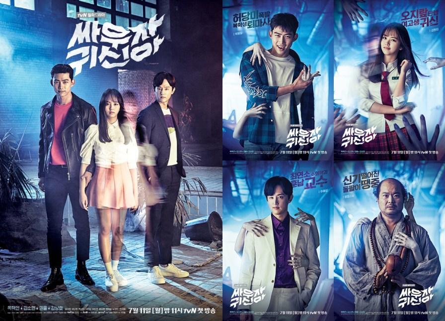 """Foto Kim So Hyun in K-Drama """"Let's Fight Ghost"""" (2)"""