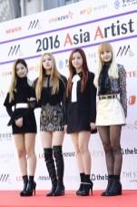 The 2016 Asia Artist Awards Red Carpet - Black Pink