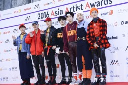 The 2016 Asia Artist Awards Red Carpet - NCT127