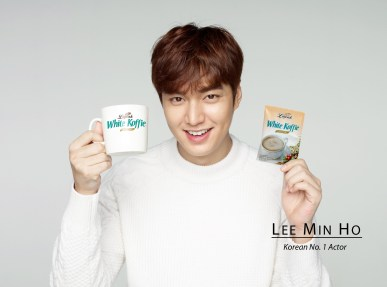 Lee Min Ho for Luwak White Coffee