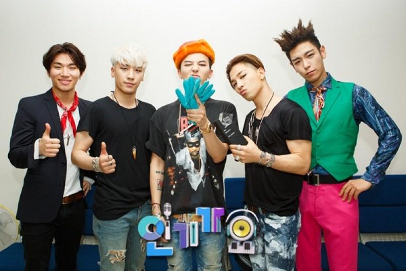 Bigbang on Sbss Inkigayo 2015