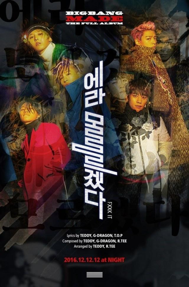 Teaser Big Bang Made Album 1