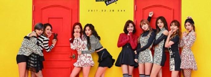 TWICE Knock Knock Poster