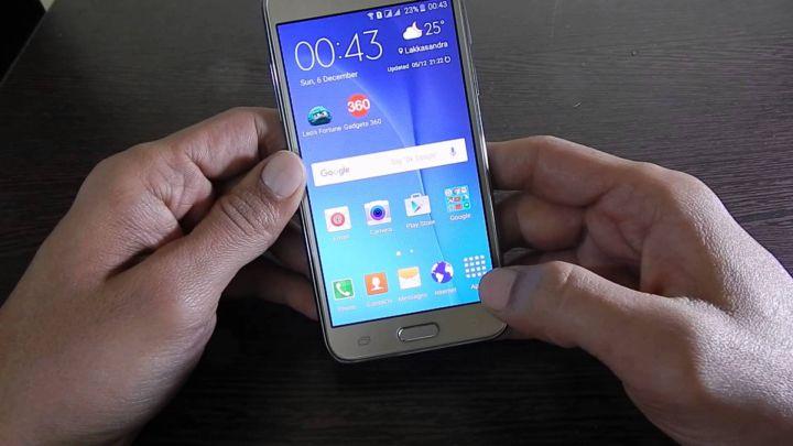 Cara Screenshoot Di Samsung Galaxy J7