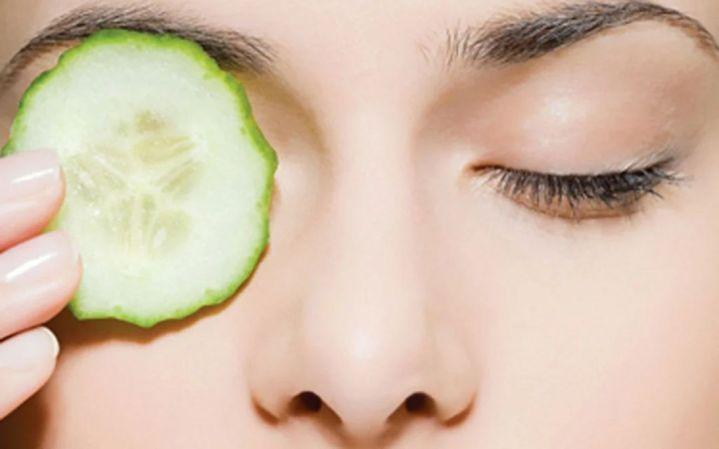 mentimun untuk mencegah kantung mata