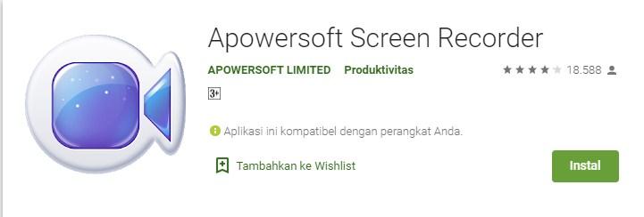 Apowersoft Scree Recorder
