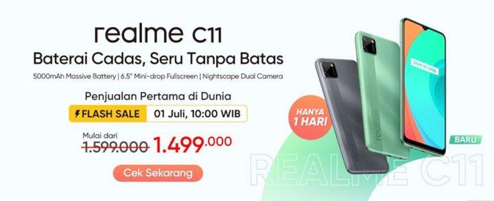 Ini Tanggal Flash Sale Realme C11 Di Indonesia