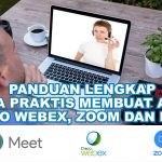 Panduan Lengkap Membuat Akun Webex