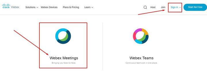 Panduan Registrasi Akun Cisco Webex