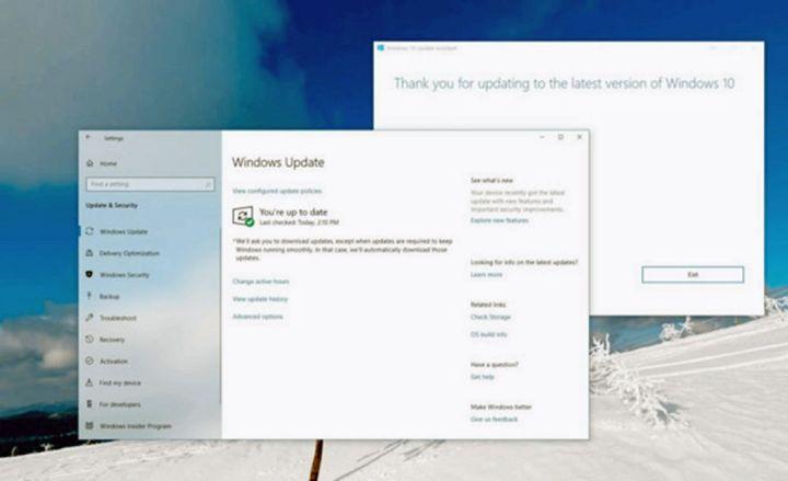 Windows 10 Update Mei 2020