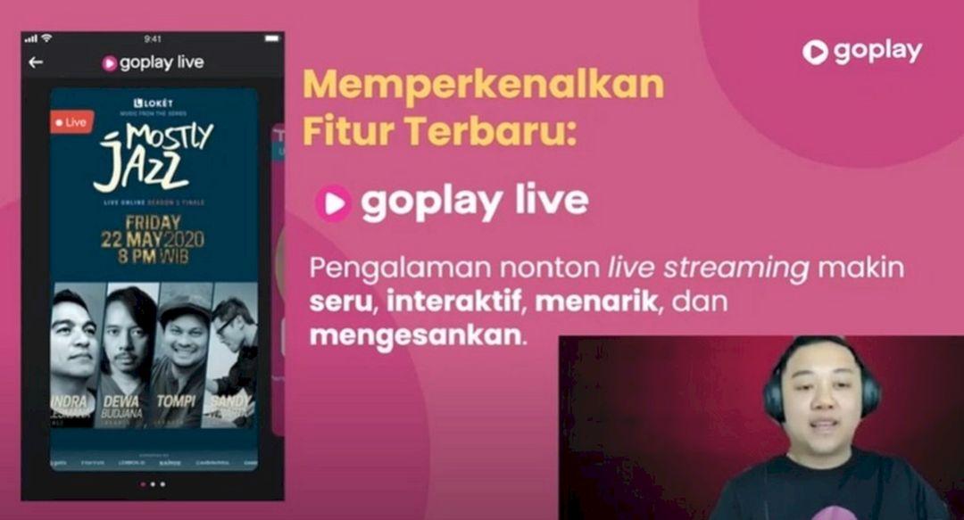 Gojek Luncurkan GoPlay Live