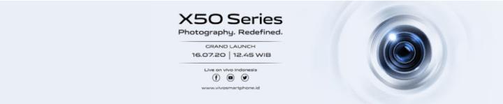 Peluncuran Vivo X50 Series