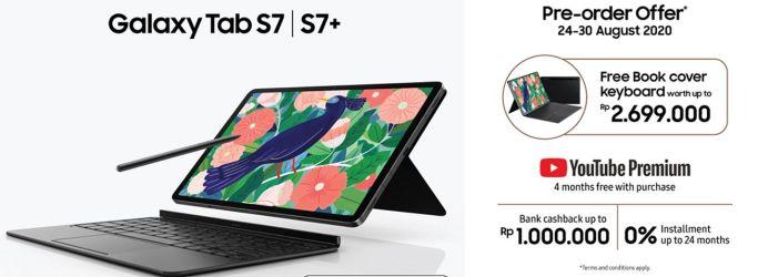 Pre Order Samsung Tab S7 Dan S7+