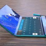 Bocoran Render Huawei Mate X2