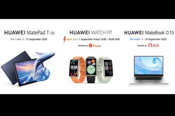 Huawei Rilis 3 Perangkat Terbaru