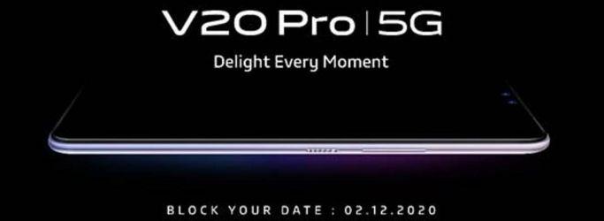 Vivo Konfirmasi Peluncuran Vivo V20 Pro