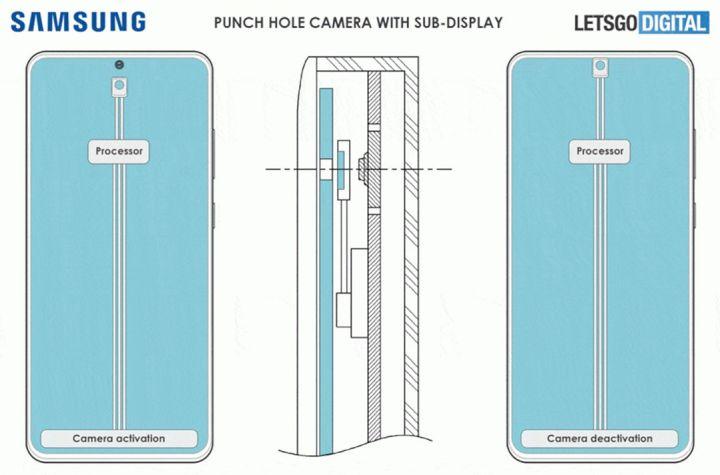 Bocoran Render Samsung Dengan Kamera Tersembunyi