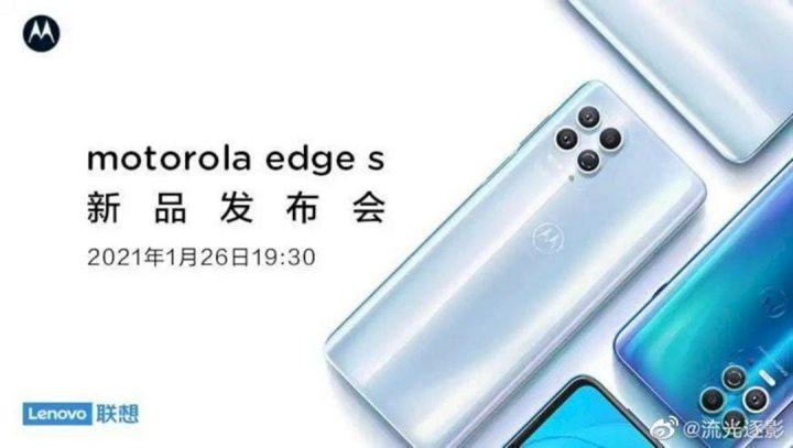 Motorola Edge S Konfirmasi Desain Quad Kamera