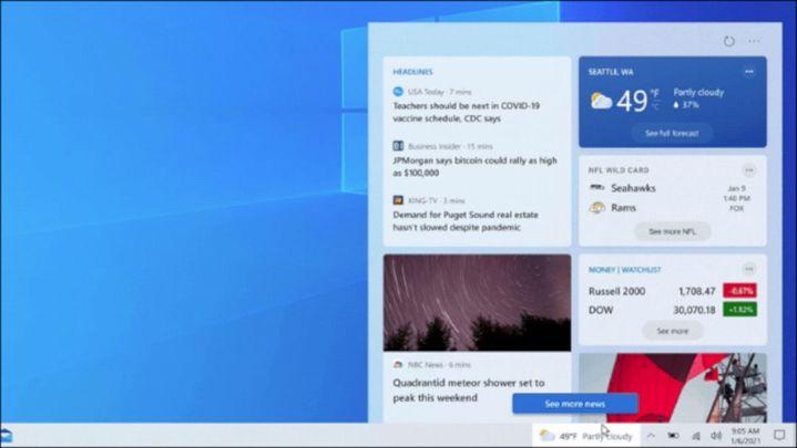 Windows 10 Hadirkan Informasi Berita Dan Cuaca