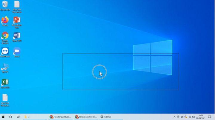 Mengaktifkan Penunjuk Pointer Mouse Pada Windows 10