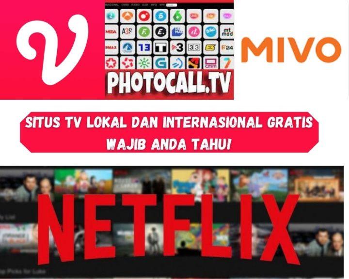 Situs TV Lokal Dan Internasional Gratis Wajib Anda Tahu