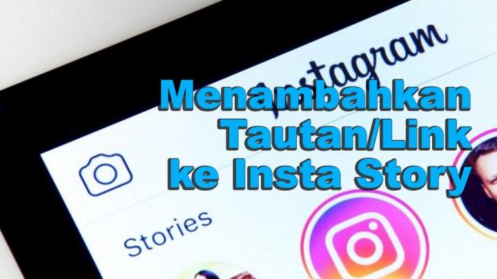 Menambahkan Tautan Ke Instagram Story