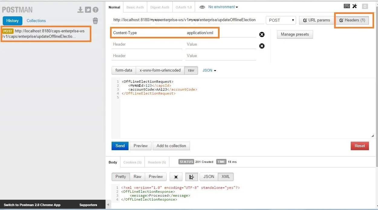 â chrome postman to test and debug restful web services java