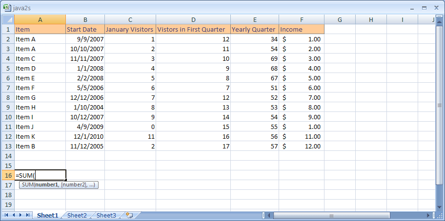 Excel Use A Range In A Formula